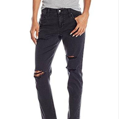 Ex-Lover Straight Crop Jean in Ninette