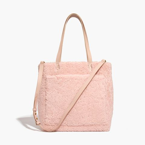 The Medium Transport Tote in Shearling