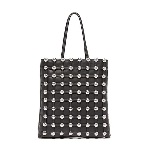 Dome Stud Cage Shopper Tote