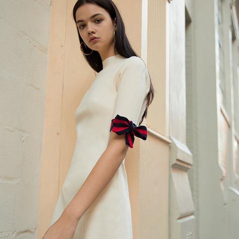 Aime Sleeve Tie Knit Dress