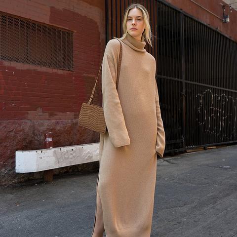 Lotta Knit Turtleneck Dress