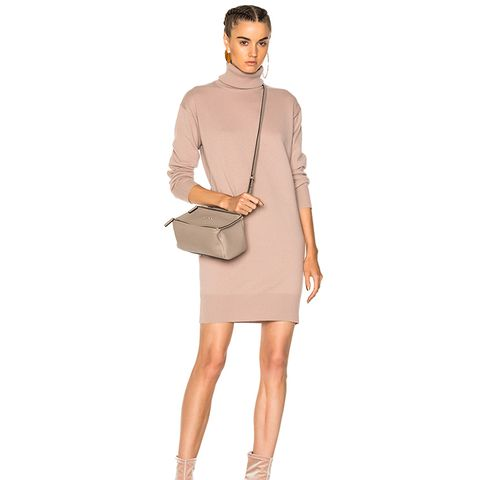 Elbow Patch Sweater Dress