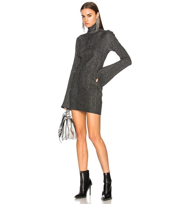 turtleneck sweater dresses