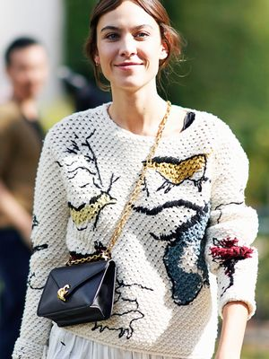 12 Months Later, Alexa Chung Is Still Making Us Want This Coat
