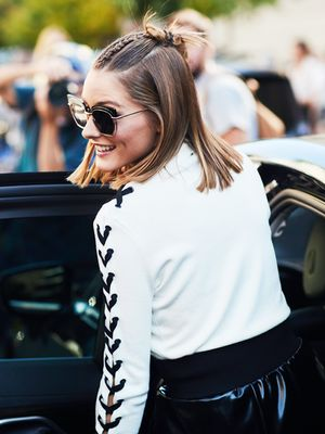 Olivia Palermo Just Wore the Perfect Party Outfit for Girls Who Hate Dresses