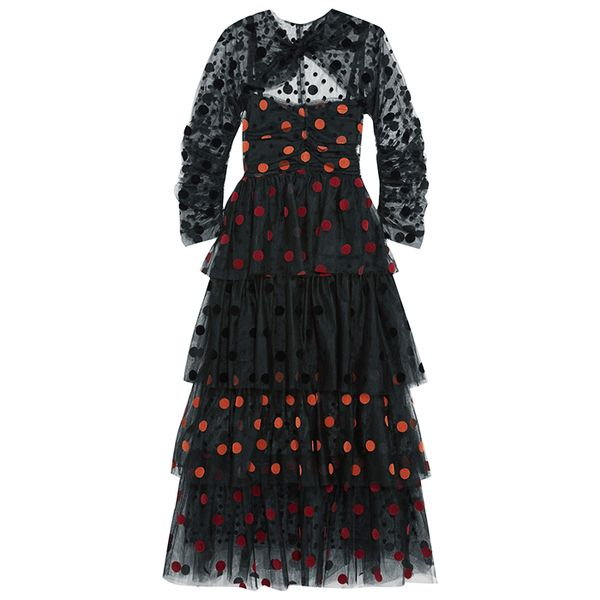 Isa Arfen Tiered Dress