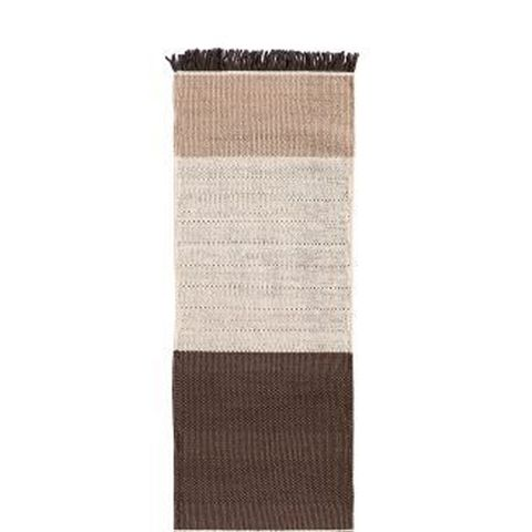 Tres Stripes Dhurrie Rug