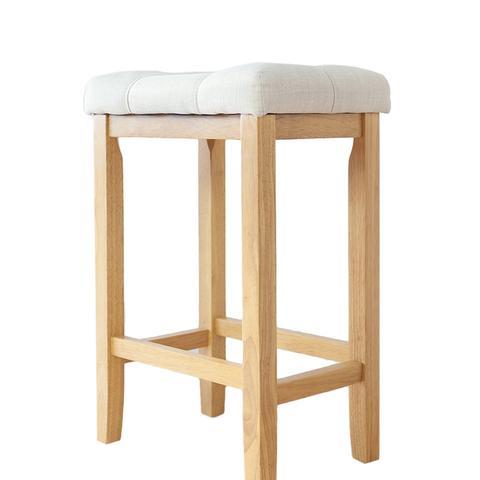 Wood Kitchen Counter Barstool