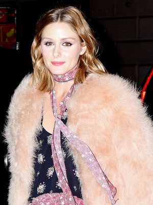 The Olivia Palermo Way to Wear Fall's Prettiest Trend