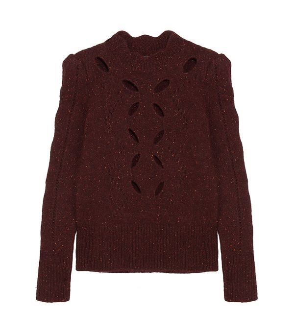 Elea Cutout Knitted Sweater