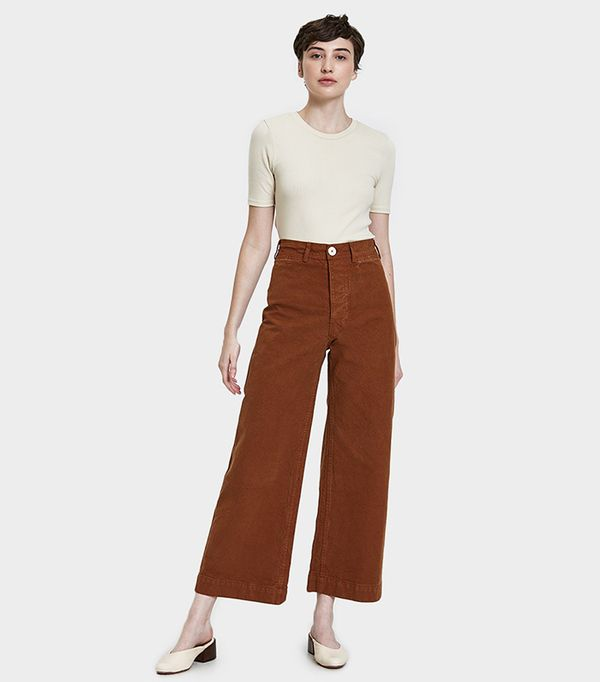 Sailor Pant in Skin Tone 34