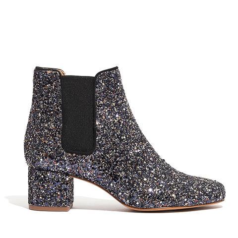 The Walker Chelsea Boots in Glitter