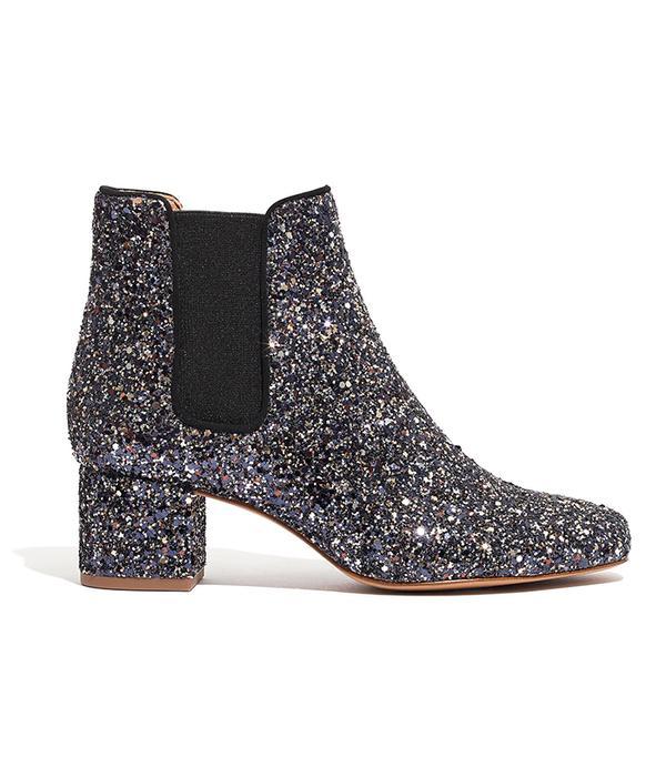 The Walker Chelsea Boot in Glitter