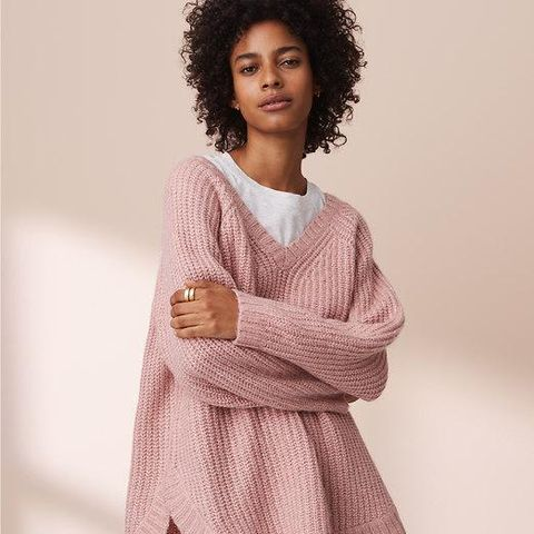 Slouchy Shirtale Sweater