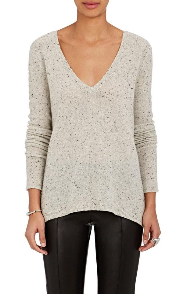 Women's Donegal-Effect Cashmere Sweater