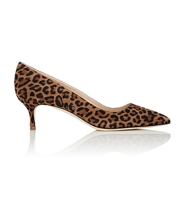 Women's BB Suede Pumps