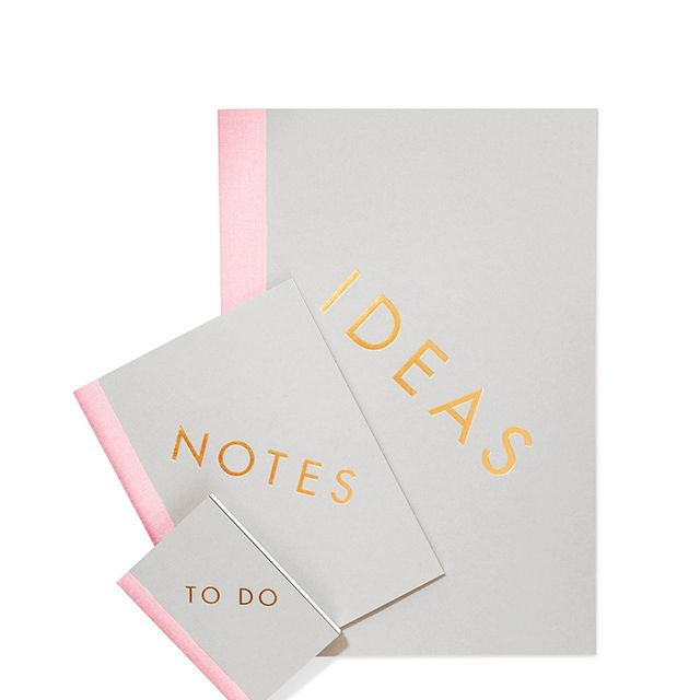 Set Of Three Notebooks