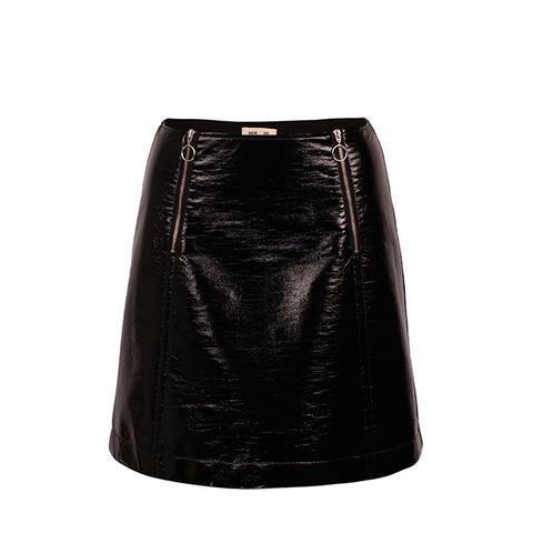 Sarea Zipper Skirt