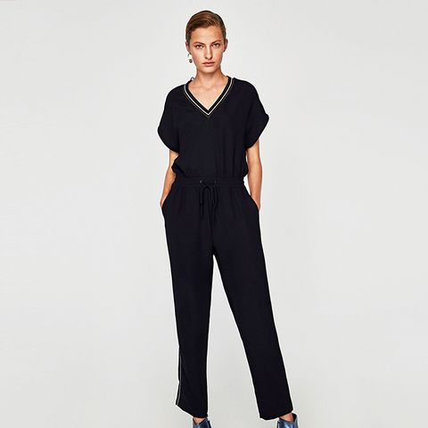 Jumpsuit With Trim Detail