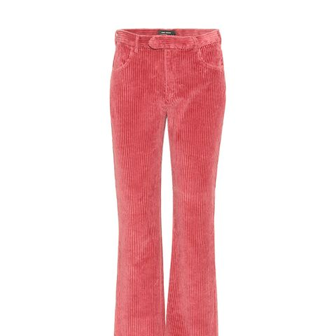 Reo Cropped Corduroy Trousers