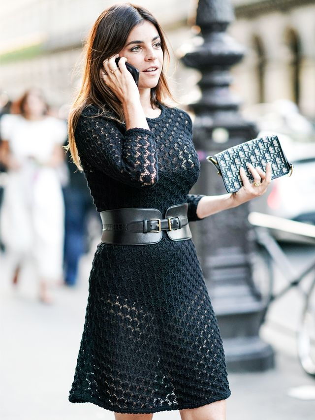 WHO WHAT WEAR UK: What is your most relied-upon party outfit?JULIA RESTOIN ROITFELD: A little black dress, pretty body conscious. I love to cinch my waist even more, and I love a good statement...