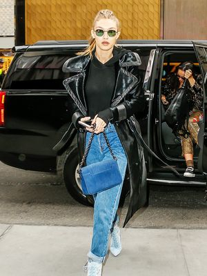 Cuffing Jeans With Boots: Gigi Hadid's Secret Styling Trick