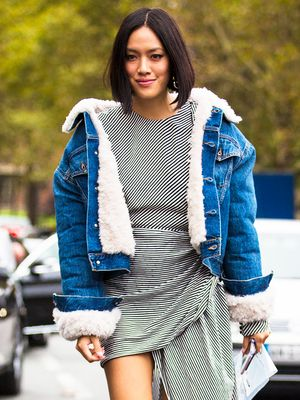17 Sherpa-Lined Denim Jackets to Cozy Up in This Fall