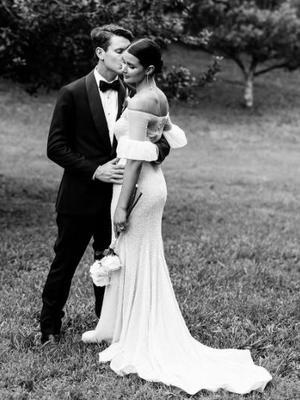 This Sydney Fashion Blogger Pioneered a New Wedding Dress Trend