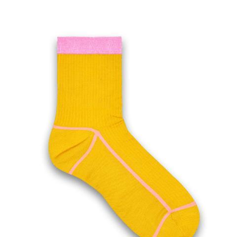 Lily Rib Ankle Socks