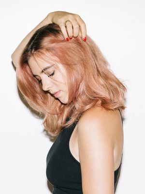 I Tried Spring's It-Girl Trend, Rose-Gold Hair—See the Photos
