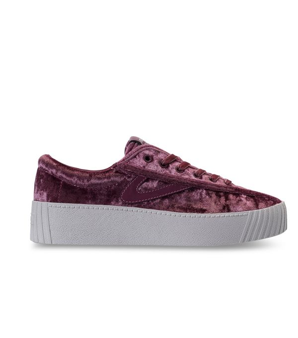 Women's Nylite 4 Bold Crushed Velvet Casual Sneakers from Finish Line