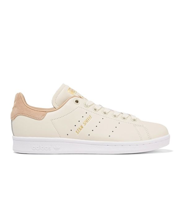 Stan Smith Suede-trimmed Leather Sneakers