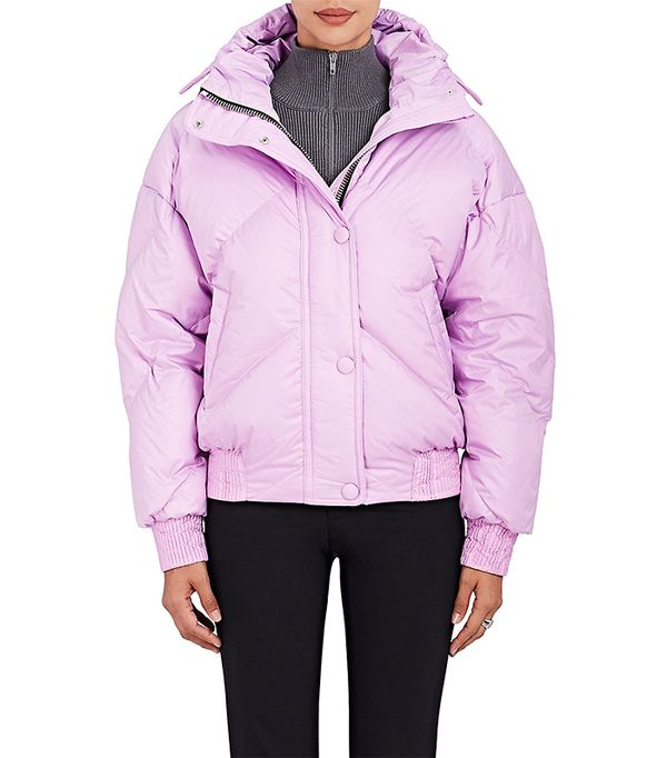 Women's Dunlop Tech-Fabric Oversized Jacket