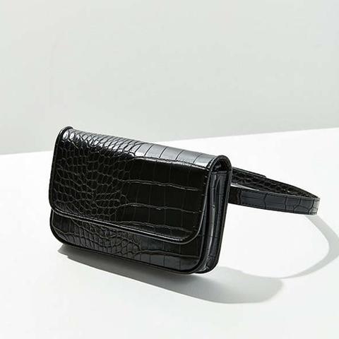 Lera Croc Covertible Belt Bag