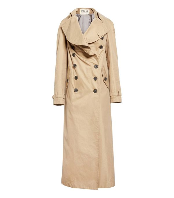 Women's A.w.a.k.e. Oversized Cotton Trench Coat