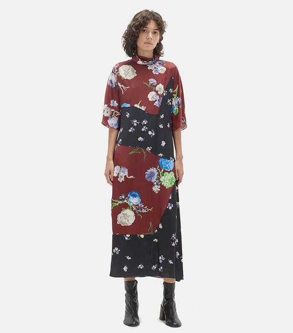 Dilona Flower Print Dress