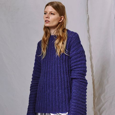 Extreme Long Sleeve Knitted Jumper