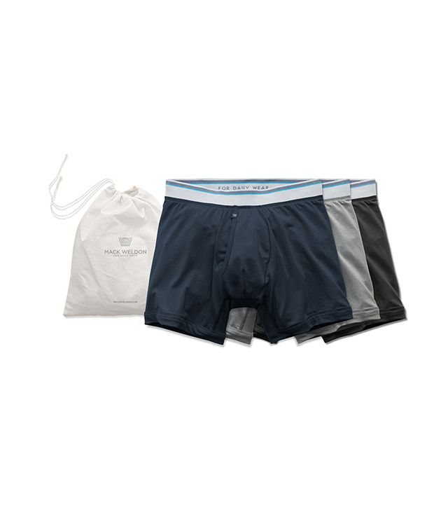 Mack Weldon 3 Pack 18-Hour Jersey Boxer Briefs
