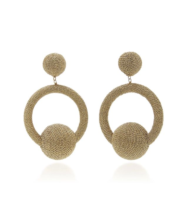 India La La Hoop Earrings
