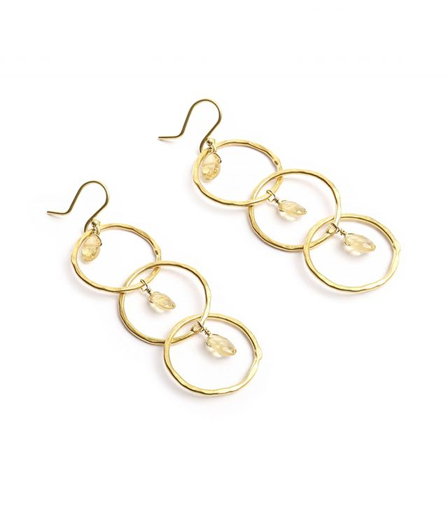 Olga Prieto Three Hoop Earrings