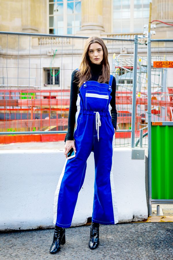 Turtleneck + Sporty Jumpsuit