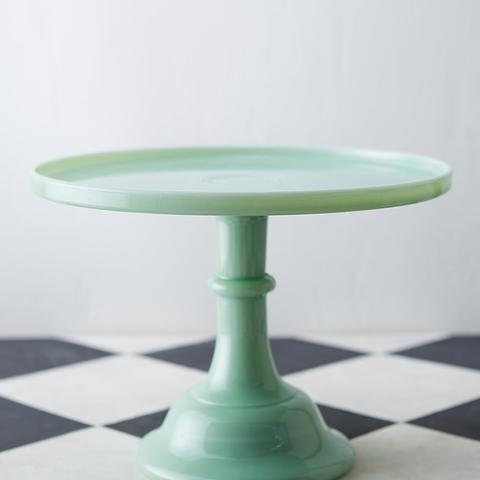 Jadeite Cake Stand