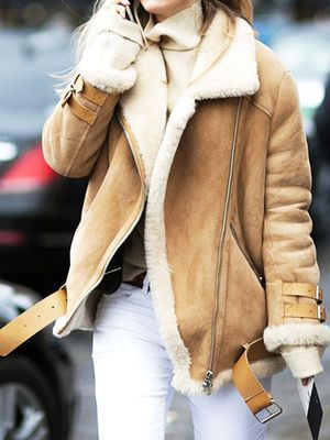 Survive Winter With These 9 Shearling Finds