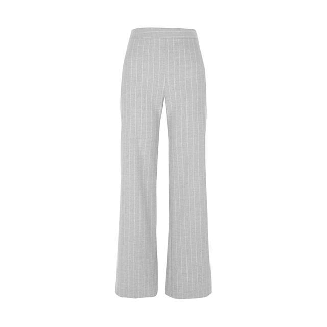 River Island Grey Stripe Wide Leg Pants