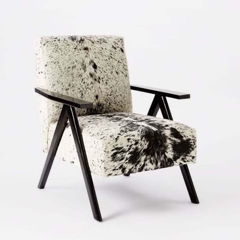 Retro Chair - Black + White