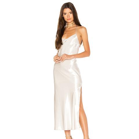 Pfeiffer Slip Dress in Ivory