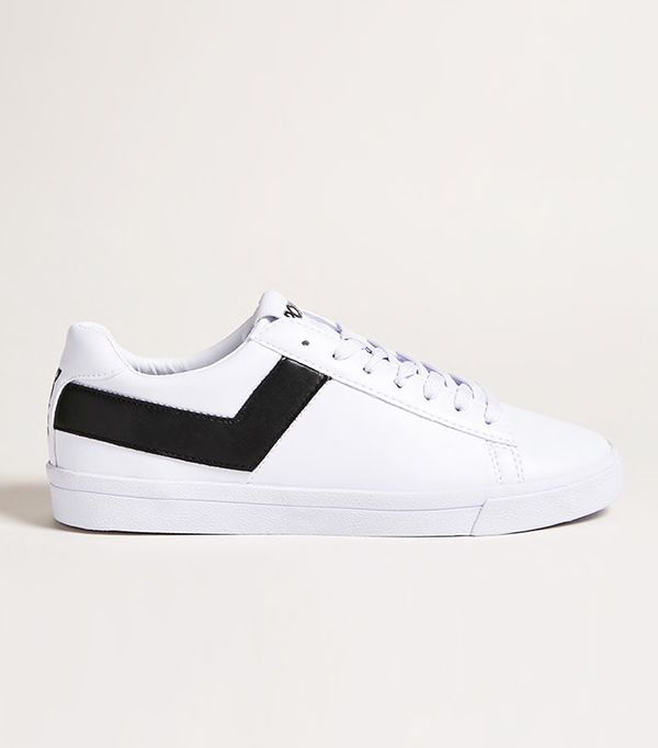Pony Leather Low-Top Sneakers