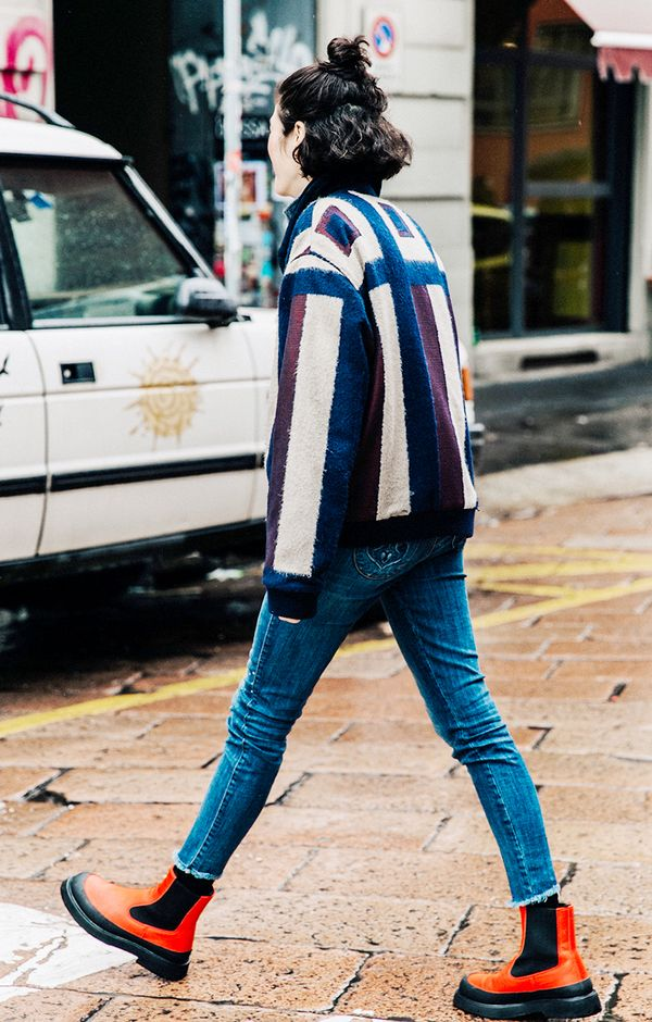 New Ways To Wear Ankle Boots With Skinny Jeans
