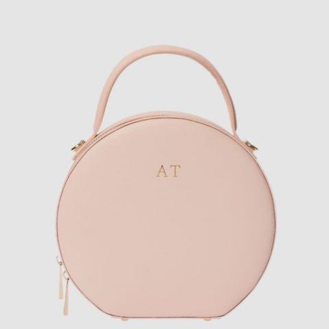 Pale Pink Circle Bag
