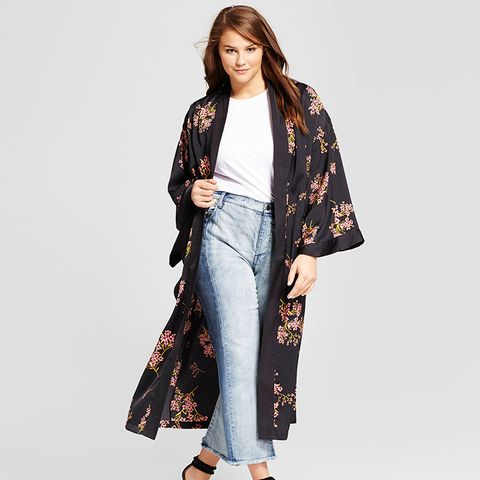 Silky Robe Coat